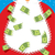 Santa Claus Beard money. Christmas wealth. New years character w stock photo © popaukropa