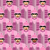 pink army seamless pattern vector background of pink military s stock photo © popaukropa