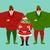 ドル · 緑 · 白 · ストッキング · サンタクロース · 孤立した - ストックフォト © popaukropa
