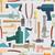 sin · costura · construcción · mano · herramientas · patrón · casa - foto stock © popaukropa