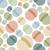 vintage · quadro · círculos · sapo · textura · projeto - foto stock © popaukropa