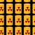 yellow barrels of radioactive substance seamless pattern vector stock photo © popaukropa