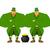 leprechaun security bodyguard dwarf with red beard guarding pot stock photo © popaukropa
