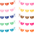 hand drawn doodle bunting with sale text in different colors stock photo © pravokrugulnik