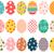 Páscoa · bonitinho · ovos · conjunto · coleção · primavera - foto stock © pravokrugulnik