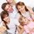 genitori · ragazzi · giovani · amichevole · famiglia · seduta - foto d'archivio © pressmaster
