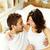 Verbundenheit · glücklich · Paar · schauen · ein - stock foto © pressmaster