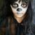 menina · halloween · foto · traje · vassoura - foto stock © pressmaster