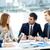 megbeszélés · kép · üzleti · partnerek · hallgat · női · alkalmazott - stock fotó © pressmaster