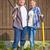 2 · 農民 · 画像 · 幸せ · 背景 · 夏 - ストックフォト © pressmaster