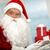 Santa by computer stock photo © pressmaster