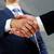 cheerful handshaking stock photo © pressmaster