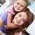 glücklich · zusammen · vertikalen · Porträt · Mutter · Tochter - stock foto © pressmaster