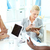 jóvenes · negocios · estudiantes · mujer · de · negocios · frente · reunión - foto stock © pressmaster