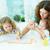 ホーム · 美しい · 母親 · 子供 · 図面 - ストックフォト © pressmaster