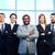 элегантный · группа · счастливым · Бизнес-партнеры · глядя - Сток-фото © pressmaster