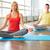 energie · aantrekkelijke · vrouw · mediteren · pose · lotus · naar - stockfoto © pressmaster