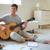 man with guitar stock photo © pressmaster