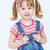 denim · verticaal · portret · zoete · meisje - stockfoto © pressmaster