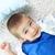 sevimli · delikanlı · çocuk · zemin · bakıyor · kamera - stok fotoğraf © pressmaster