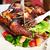 étvágygerjesztő · tintahal · villa · pörkölt · otthon · konyha - stock fotó © pressmaster