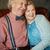 anziani · verticale · ritratto · felice · pensione · Coppia - foto d'archivio © pressmaster