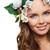 naturaleza · primer · plano · retrato · jóvenes · femenino · belleza · natural - foto stock © pressmaster