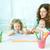 ホーム · 美しい · 母親 · 子供 · 少女 - ストックフォト © pressmaster
