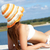 imagem · feminino · branco · biquíni · banhos · de · sol - foto stock © pressmaster