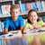 Одноклассники · улыбаясь · камеры · классе · школы - Сток-фото © pressmaster