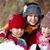 grup · çocuklar · mutlulukla · oynama · kar · kış - stok fotoğraf © pressmaster