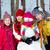 дружбы · счастливым · друзей · снеговик · глядя · камеры - Сток-фото © pressmaster