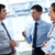 бизнеса · команда · два · текущий · Дать - Сток-фото © pressmaster