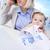 bébé · travail · adulte · femme · d'affaires · costume - photo stock © pressmaster