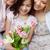 criança · flores · crescimento · mulher - foto stock © pressmaster