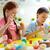 yaratıcılık · sınıf · sevimli · okul · öncesi · boyama · yumurta - stok fotoğraf © pressmaster