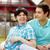 nyáridő · homoszexuális · pár · jó · idő · meleg - stock fotó © pressmaster