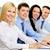 affaires · collègues · séance · table · souriant - photo stock © pressmaster