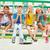 criança · balançar · jovem · jogar · crianças · laranja - foto stock © pressmaster