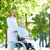 arts · patiënt · mooie · verpleegkundige · senior · lopen - stockfoto © pressmaster