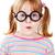 NERD · девушки · красивая · девушка · Hat · очки - Сток-фото © pressmaster
