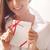 романтические · девушки · любви · письме · портрет · бумаги - Сток-фото © pressmaster