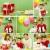 kadın · doğum · günü · balon · duş · konfeti - stok fotoğraf © pressmaster