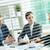 trabalho · de · escritório · retrato · três · pessoas · de · negócios · idéias - foto stock © pressmaster