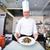 klaar · garnering · afbeelding · mannelijke · chef - stockfoto © pressmaster