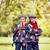 portré · kettő · mosolyog · iker · fiútestvérek · áll - stock fotó © pressmaster
