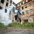explosión · gueto · retrato · peligroso · chicos - foto stock © pressmaster