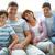 család · négy · portré · boldog · család · néz · kamera - stock fotó © pressmaster