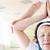 bevinding · evenwicht · portret · vrouwelijke · yoga - stockfoto © pressmaster