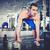 súlyemelő · portré · sportos · topless · férfi · emel - stock fotó © pressmaster
